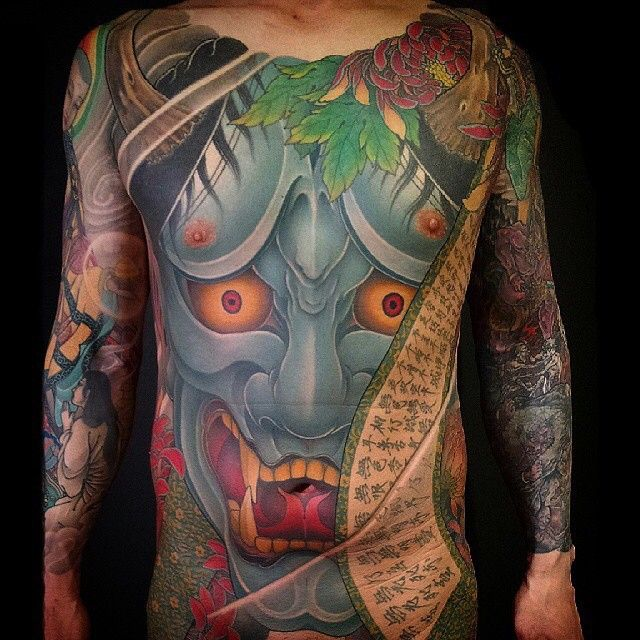 Bodysuit tattoo by @tomo_silkneedle. He previously labored with @shige_yellowblaze,…
