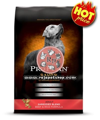 http://rajapetshop.com/en/category/Dog-or-Anjing_Dog-Food-or-Makanan-Anjing_45/product/DOG-FOOD-PRO-PLAN-ADULT-SAVOR-SHREDDED-BEEF-and-RICE-15,9-KG