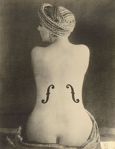Le Violon d'Ingres, 1924, by Man Ray.