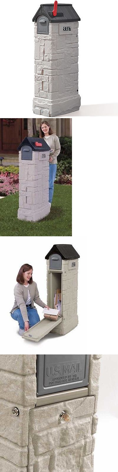 Mailboxes and Slots 20599: Step2 Locking Column Box -> BUY IT NOW ONLY: $141.99 on eBay!