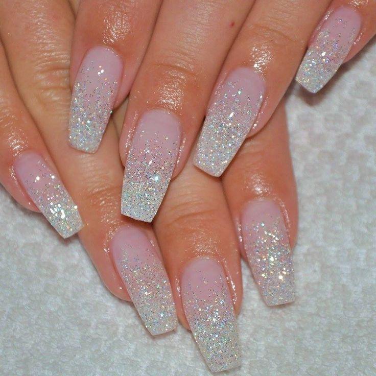 √ Best 25+ Glitter ombre nails ideas on Pinterest