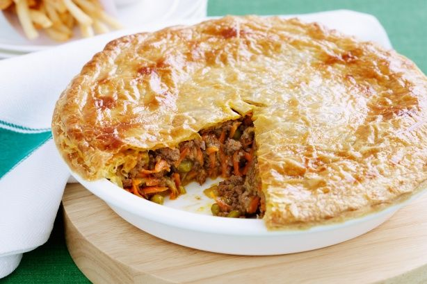 Beef and Vege Pie