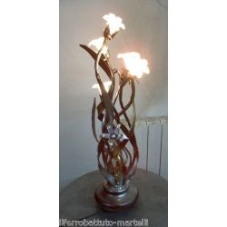 Wrought Iron Table Lamp. Customize Realizations. 497