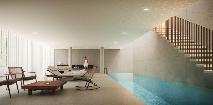 Luxury condo in Miami Beach area.
