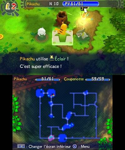 Test de Pokémon Donjon Mystère : Les portes de l'infini sur Nintendo 3DS. Quel Pokémon incarnerez-vous ?