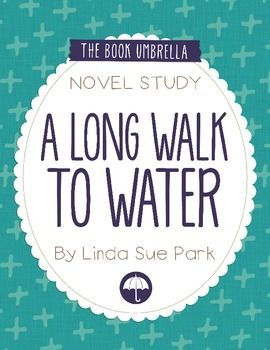 A Long Walk to WaterThis is a novel study for A Long Walk to Water by Linda Sue Park. 32 pages of student work, plus an answer key!This novel study divides A Long Walk to Water into six sections for study. The chapters are grouped as follows: Ch 1-3, 4-6, 7-9, 10-12, 13-15,  16-18.