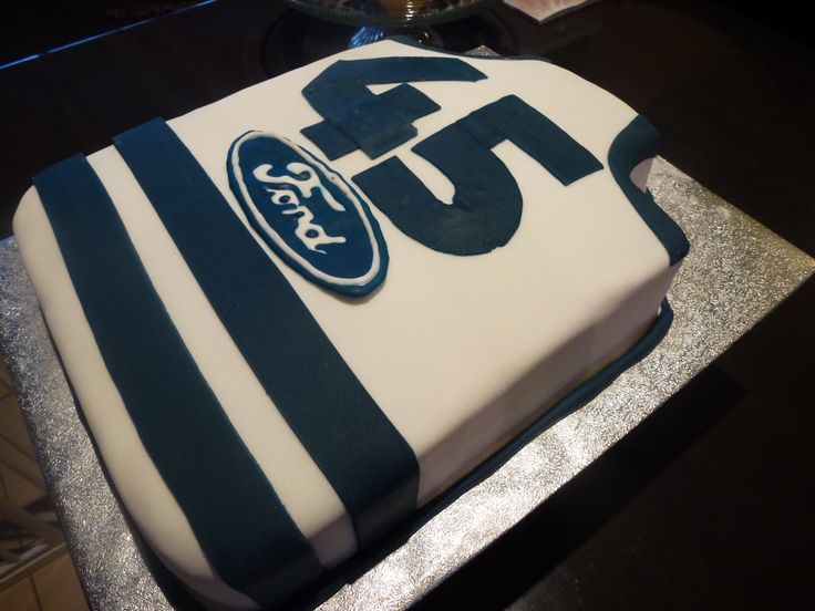 "Geelong ""Cats"" AFL Jumper Cake"