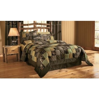 White River Camo Patchwork Quilt Set We Are