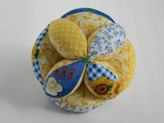 how to make a patchwork puzzle ball