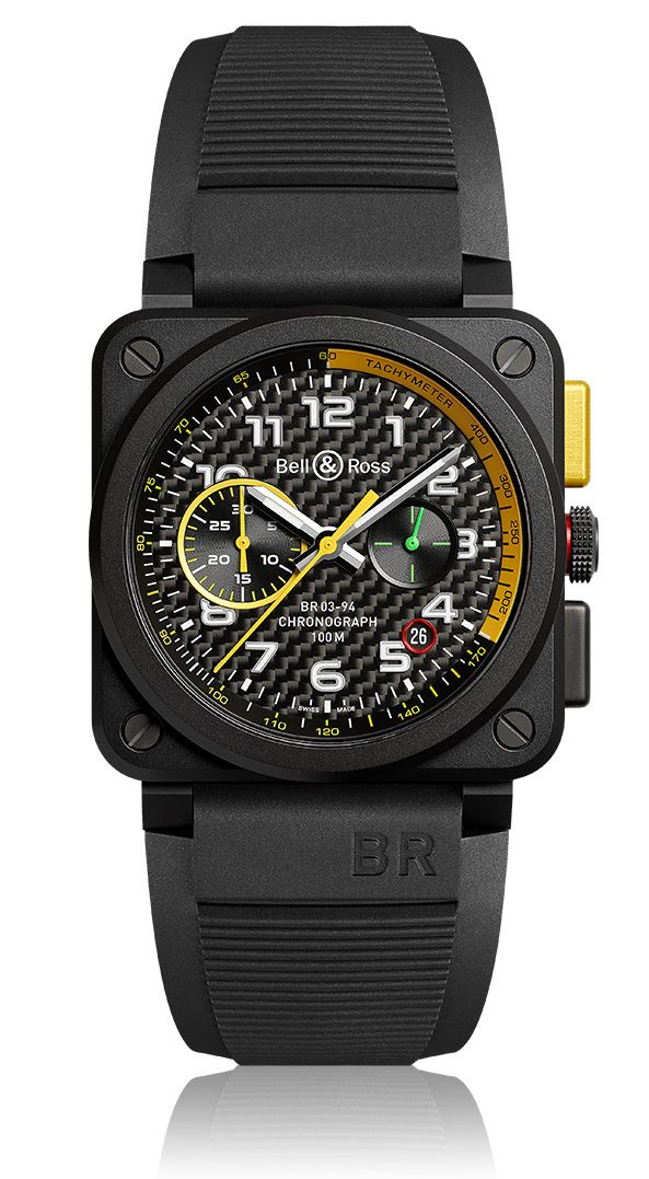 TimeZone : Industry News » Pre-Basel 2017 - Bell & Ross BR 03-94 RS17