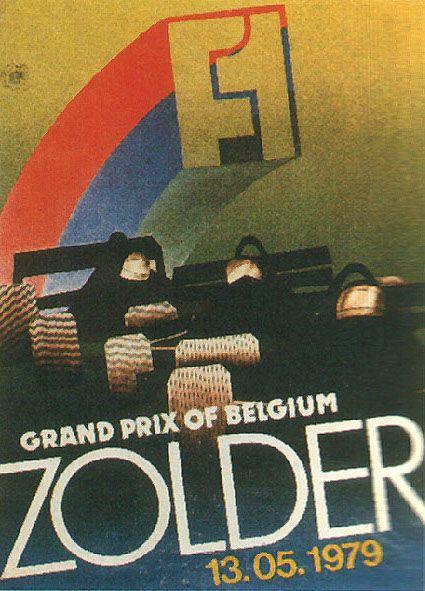 319GP - XXXVII Grote Prijs van Belgie 1979 POSTER