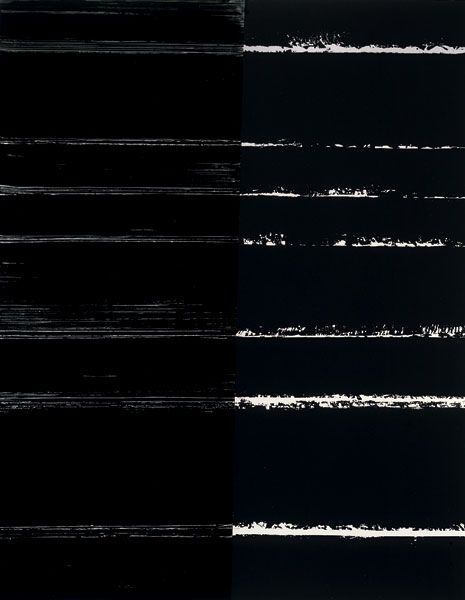 Pierre Soulages / Painting 300x235cm, 9 July 2000