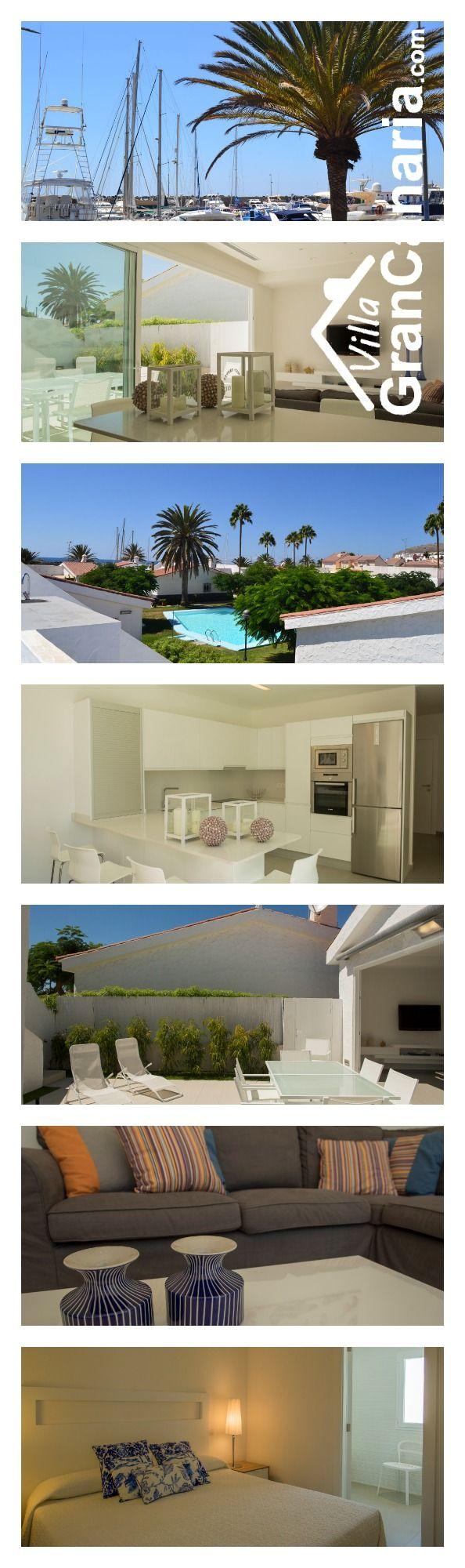 Gran Canaria holiday home / Holiday rentals /Ferienhaus / Ferienwohnung. Islas Canarias, Canary Islands, Kanaren, Kanarische Inseln. Villa Bungalow Marina /Sporthafen