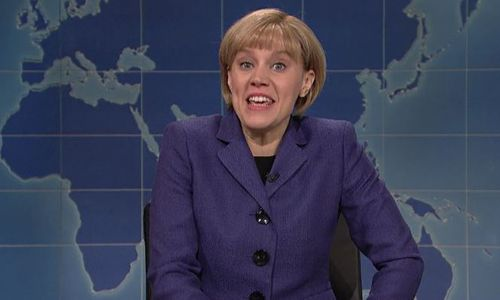 SNL tries to dig at Angela Merkel, but can't get past its own Trump-hate