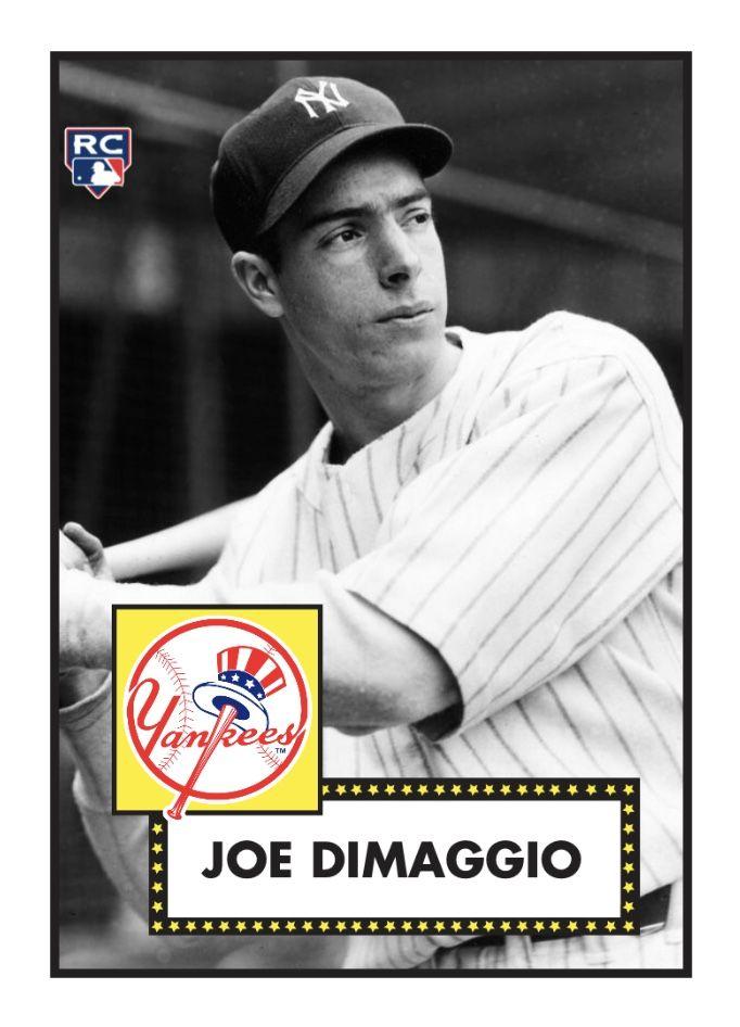 Joe Dimaggio Joe Dimaggio Baseball Cards Baseball