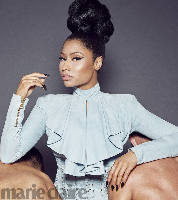 Nicki Minaj for Marie Claire's November cover. #NickiforMC
