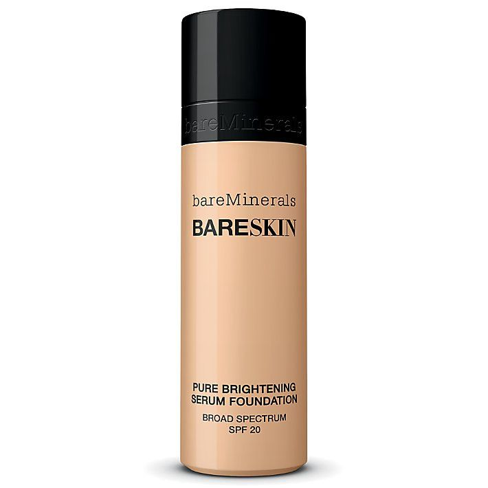 Bare Minerals BareSkin Pure Serum Foundation Broad Spectrum SPF 20 Bare Shell 02 1.0 oz