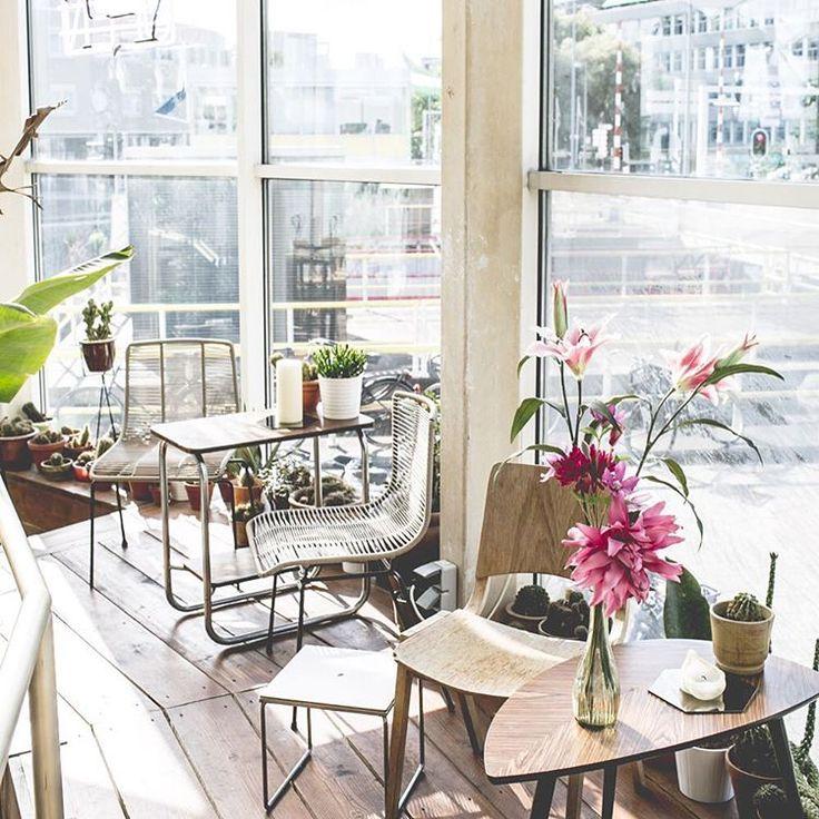 Wij hebben niet alleen een heerlijk terras maar ook een fijne koffiebranderij en een restaurant waar je met dit weer lekker kan schuilen en een hapje kan eten!  #alohabarrotterdam