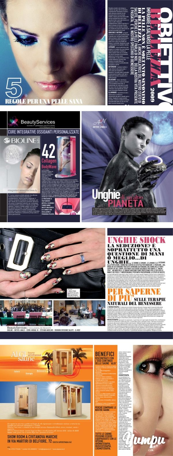 Mixer - Donna Impresa Magazine - Magazine with 4 pages: Mixer - Donna Impresa Magazine