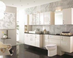 Gloss Oyster Ed Bathroom Furniture Suitable For Any Home