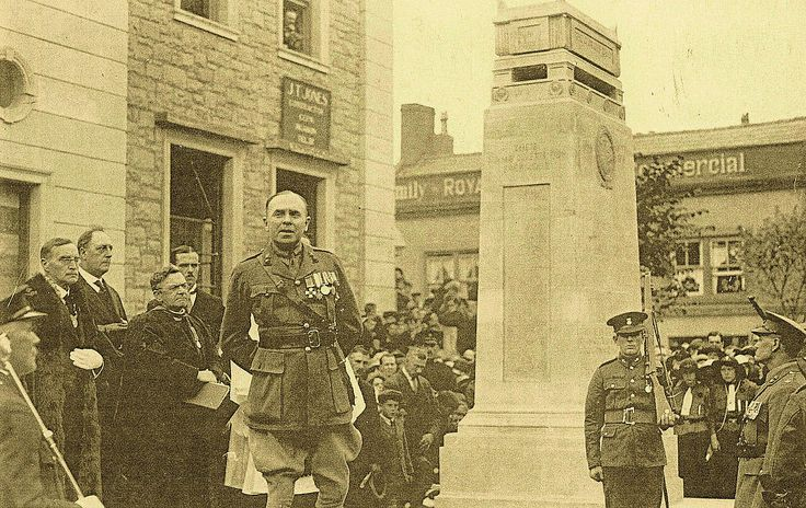 FLINT WAR MEMORIAL UNVEILING CEREMONY BY COL. T. H. PARRY, D.S.O. (County Herald 8th October 1926)