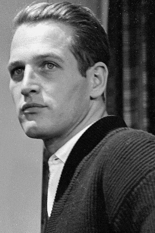Paul Newman, 1958, photo by Edward R Murrow