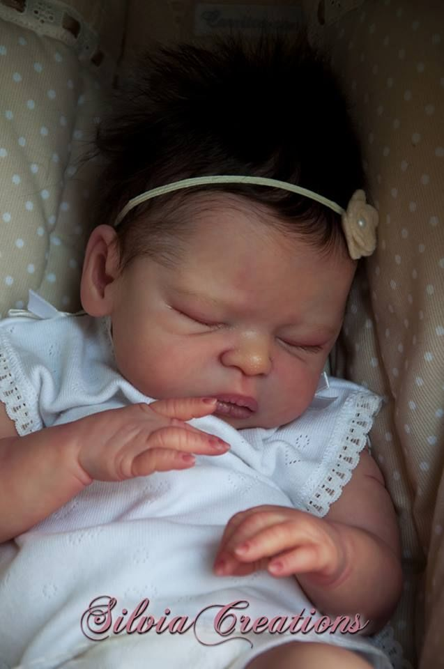 Leelou by Cassie Brace - no belly plate - Online Store - City of Reborn Angels Supplier of Reborn Doll Kits and Supplies