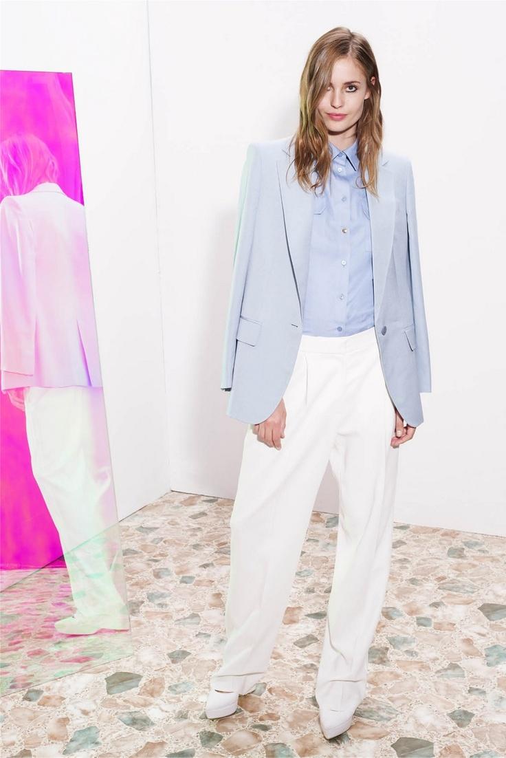 .: Summer Fashion, Mccartney Resorts, Stella Mccartney,  Pj'S, Blue Blazers,  Jammi, Resorts 2013, Stellamccartney,  Pyjama