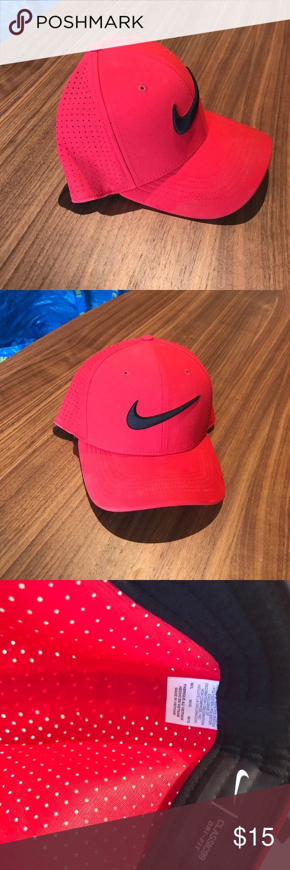 Nike Dri-Fit hat M/L Nike hat in excellent shape, only worn 2-3 times. Practically brand new. Flex fit hat Size M/L Nike Accessories Hats