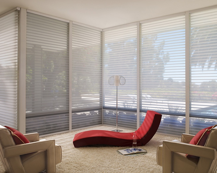 New Soften the view to the outdoors while in the relaxed fort of indoors with Nantucket™ window shadings ♢ Hunter Douglas window treatments Photos - Style Of Contemporary Window Coverings Beautiful