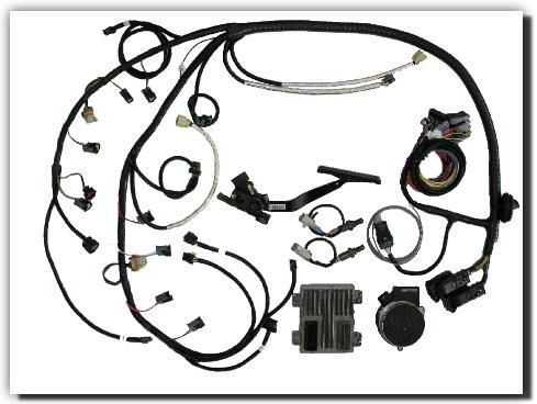 Southern Performance Systems: Gen IV Wire Harness Kits