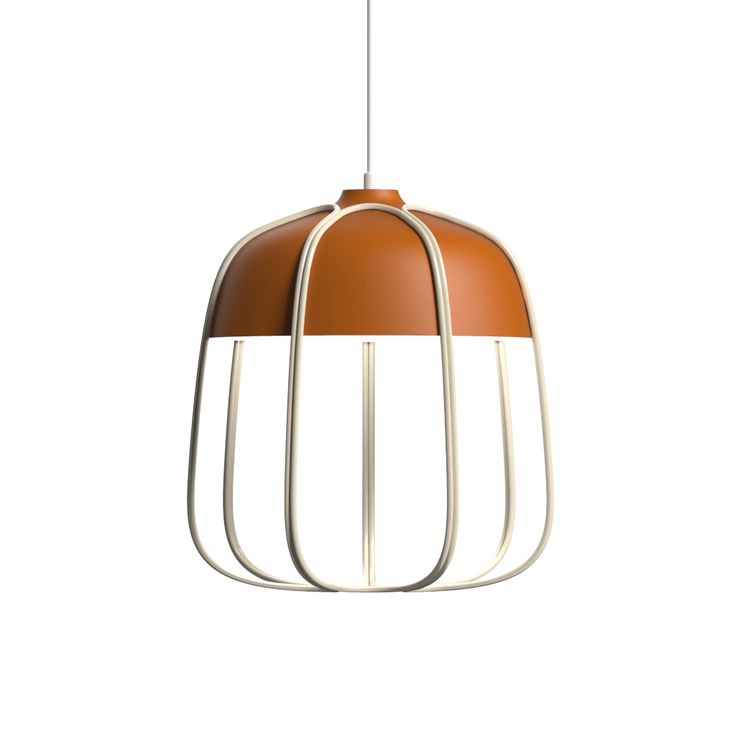 Great Tull Metal Cage Ceiling Lamp