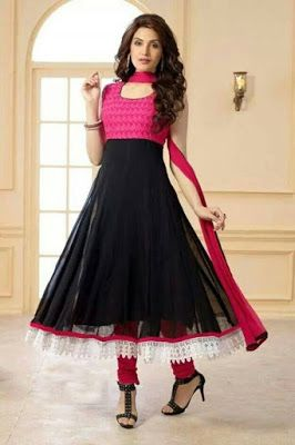 Latest Designer Anarkali Suits With Price	http://www.fashioncluba.com/2017/04/indian-anarkali-suit-designs-for-casual-wear.html