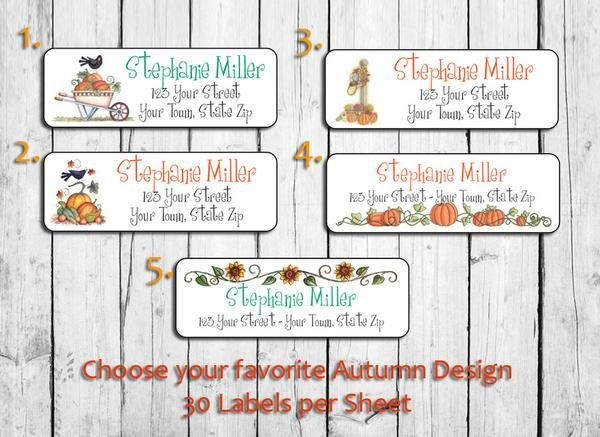 seasonal return address labels arts arts