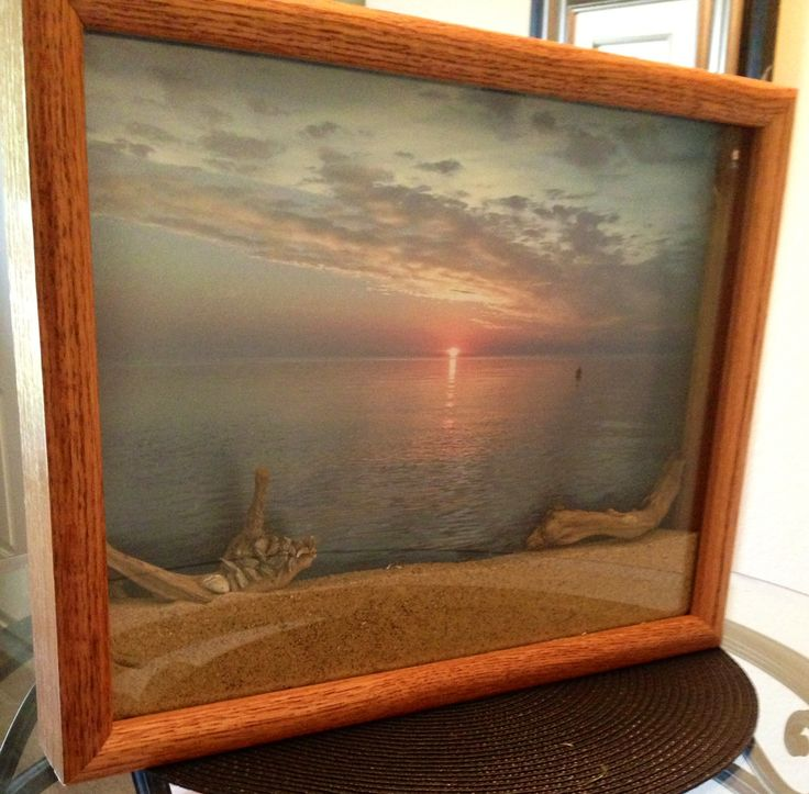 Best 25 Beach Shadow Boxes Ideas On Pinterest Shells