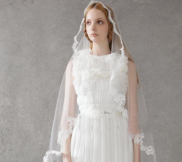 Beautiful white lace eyelash lace bridal Muslim Veil single folding bridal Muslim Veil 2 meters bridal Muslim Veil