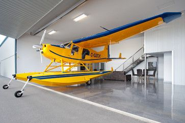 1000 images about hangar home on pinterest house for Aircraft hanger designs