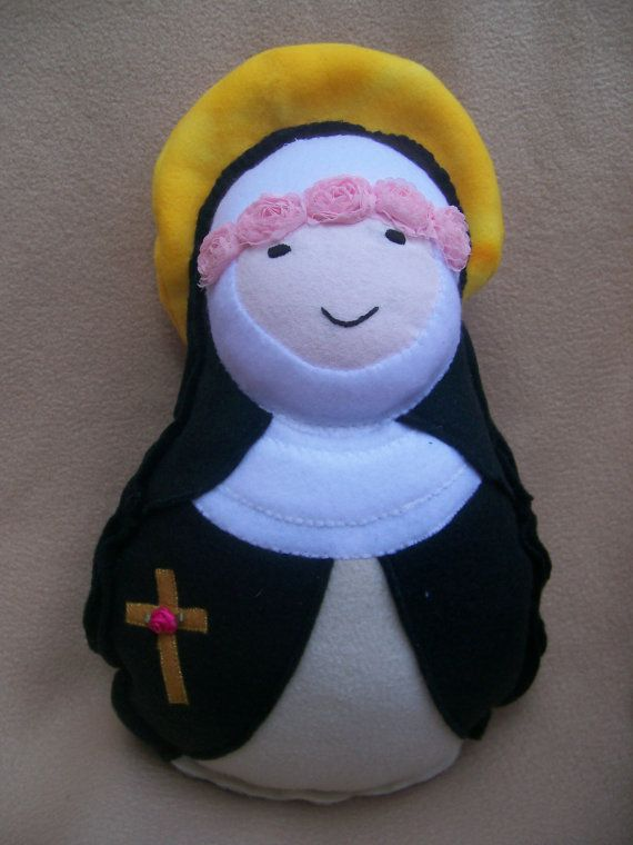 St. Rose of Lima soft stuffed religious saint doll
