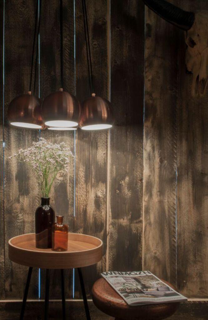 Zuiver Lampa Wisząca Multishine Miedziana 5300039 : Oświetlenie wewnętrzne : Sklep internetowy Elektromag Lighting #scandinavian #lighting #lamp