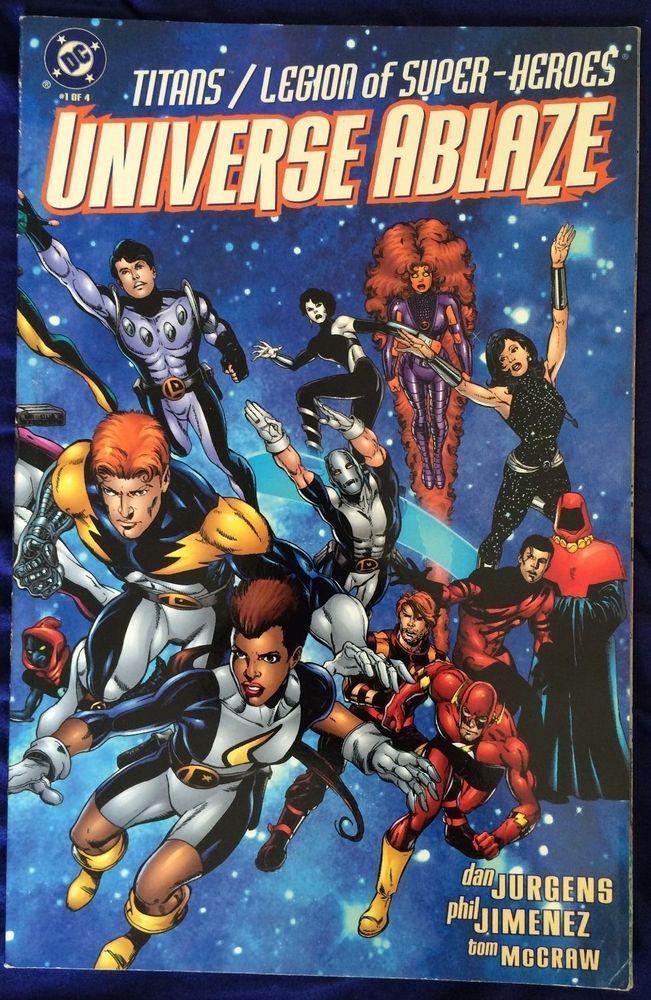 SOLD - #Titans VS Legion of Super-Heroes #1 (1994)  #DCComics #TeenTitans #JusticeLeague