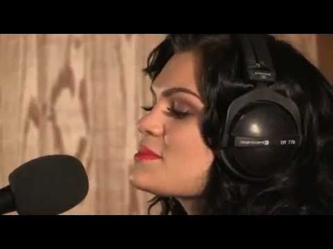 Jessie J singing an acoustic cover of Rihanna's smash hit We Found Love for BBC Live Lounge on the 17th February 2012.   I Love this cover and find it even better than the original!!!  Keep Rocking Jessie