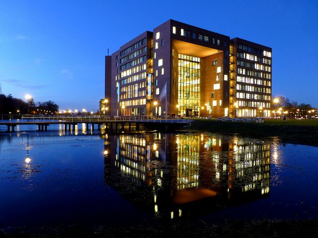 Forum building, Wageningen University by Frans.Sellies, via Flickr (this is close to my home!)
