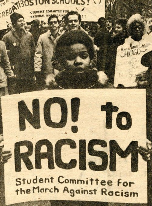 "in the 1960s the ""whites"" and ""blacks"" supposedly had equal rights but alought of people still treated ""blacks"" really badly and had a hatred for them that was un waveringly true."