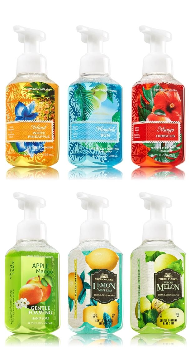 Bath  Body Works Relaunches Hand Soaps for Spring 2014