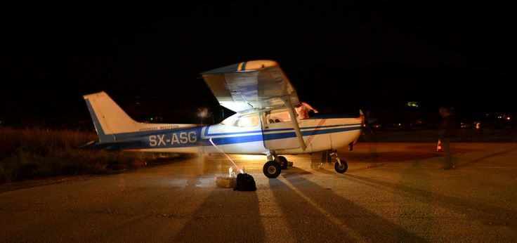 SX-ASG parked at Mytilene Airport