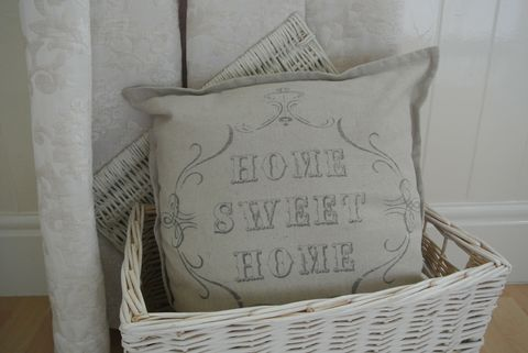 Home Sweet Home Cushion - Divine Shabby Chic