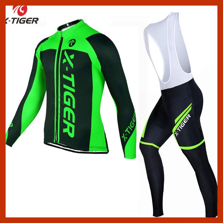 X-Tiger 2017 Winter Thermal Fleece Cycling Clothing Pro Bike Clothes Wear MTB Bicycle Jersey Set Maillot Ropa Ciclismo Invierno