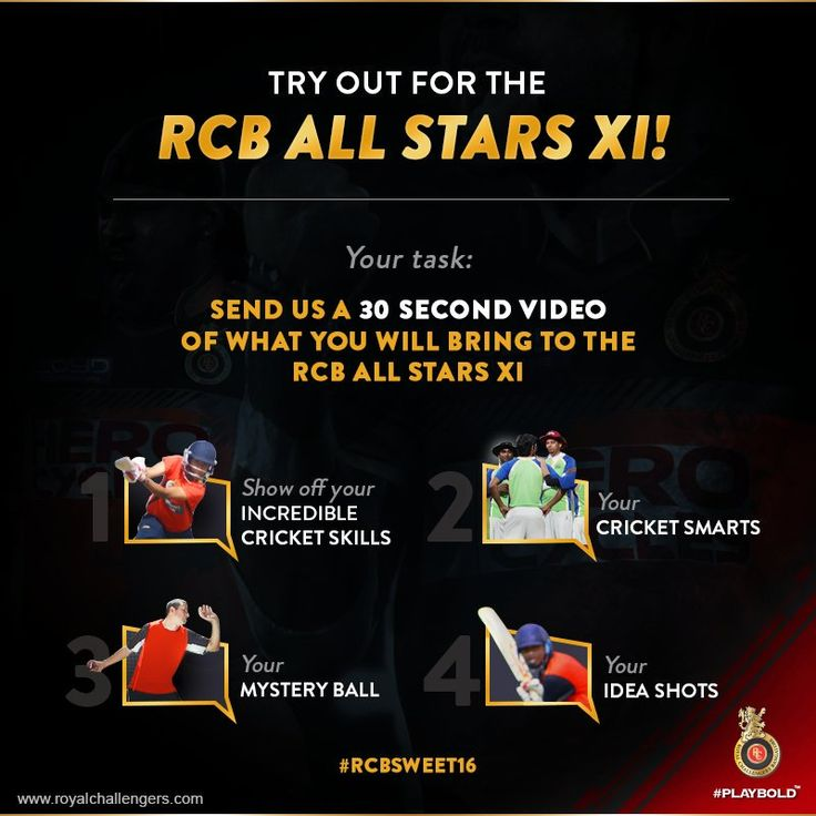 Test your skills- RCB Challengers