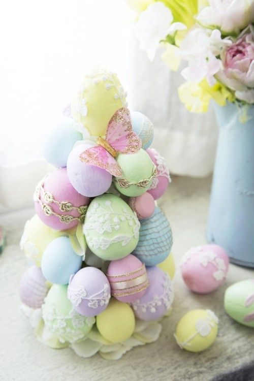 #Pastel eggs! So pretty!