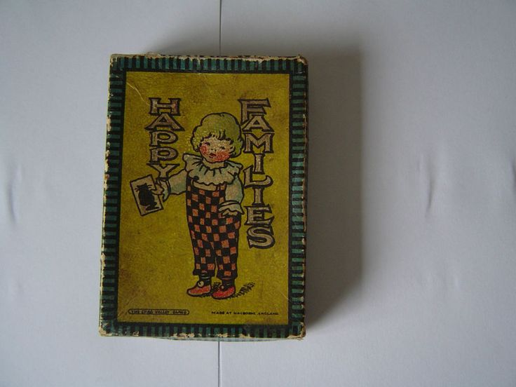 Vintage Chad Valley 1920s HAPPY FAMILIES CARD GAME